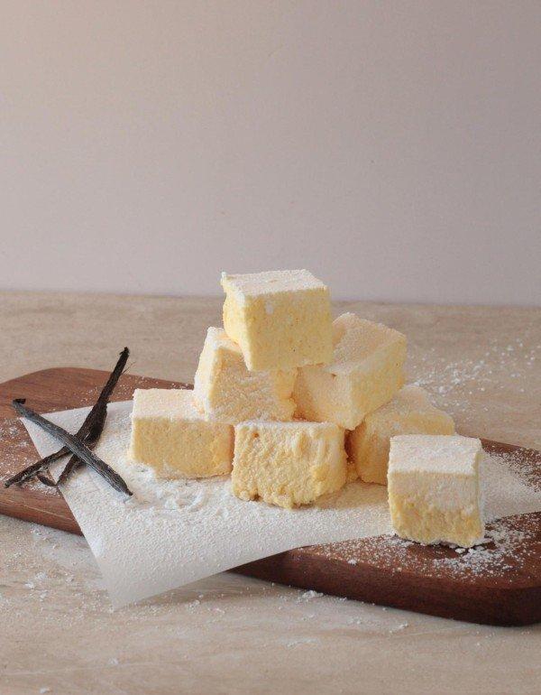 Marshmallows de Vainilla y Maracuyá
