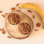 Ricos muffins con crumble de nuez