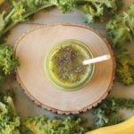 Batido de Kale plátano y piña