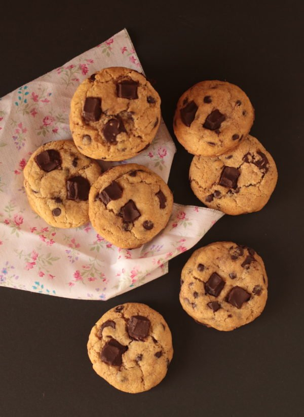 Galletas de chips de chocolate