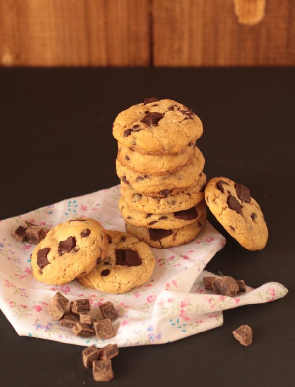Galletas de chips chocolate