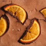 Brownies con naranja